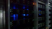 Still image of The data servers at the CERN ATLAS experiment
