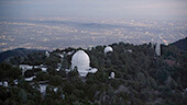 Still image of The Mt. Wilson Observatory in Los Angeles, CA