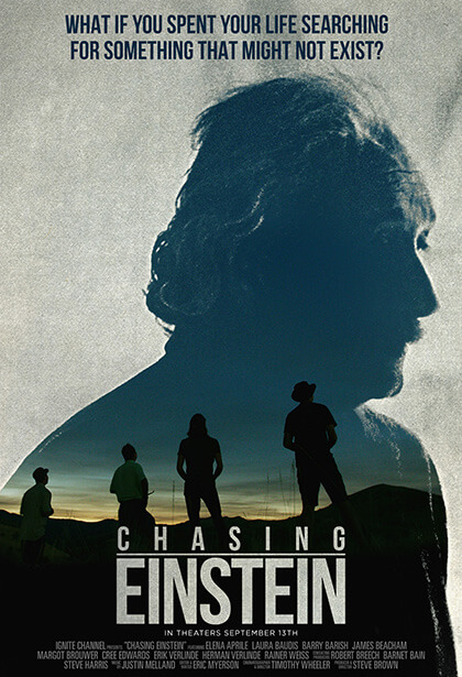 Official Chasing Einstein movie poster image